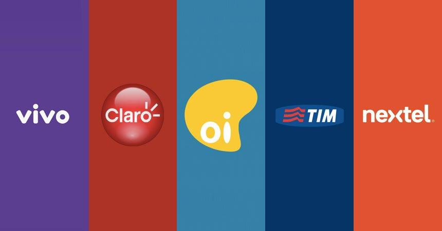 Operadoras móvel no Brasil