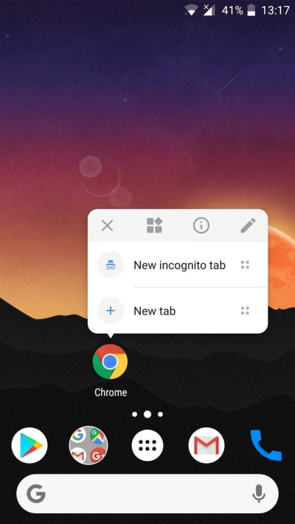 Nova Launcher adiciona barra de pesquisa e menu pop-up presentes no Android Oreo