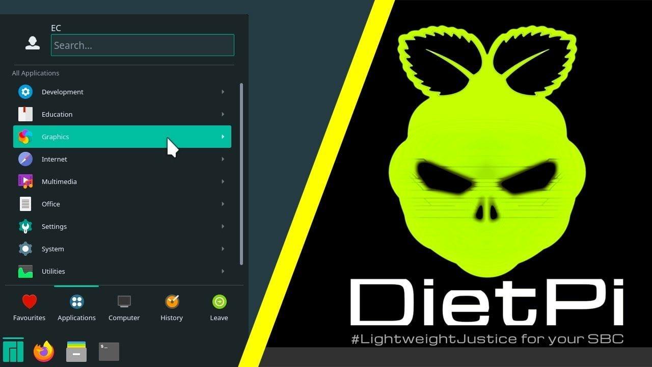 DietPi: Lightweight Raspberry Pi OS