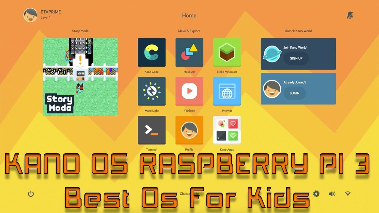 Kano OS: Operating system for kids'education