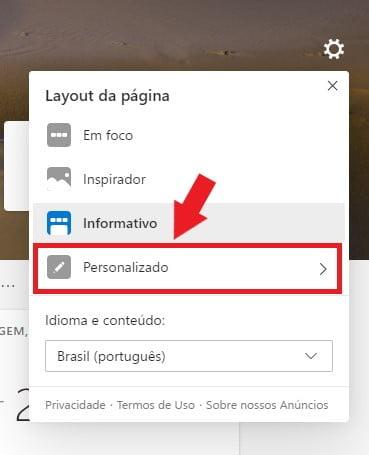 Microsoft Edge: Como ocultar as notícias da nova guia