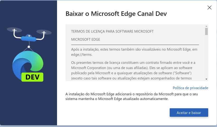 Como instalar o Microsoft Edge no Ubuntu Linux e Linux Mint