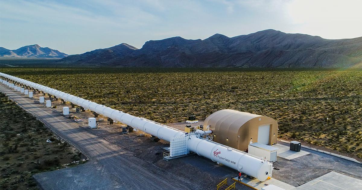 Virgin Hyperloop revela detalhes de seu transporte futurista