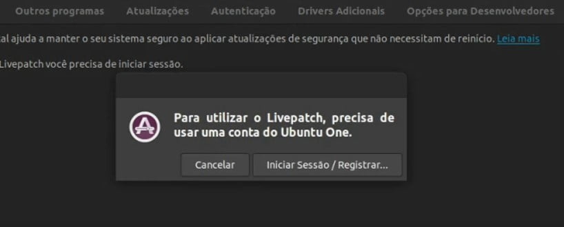 Canonical LivePatch: Aplique patches críticos sem reiniciar o Ubuntu