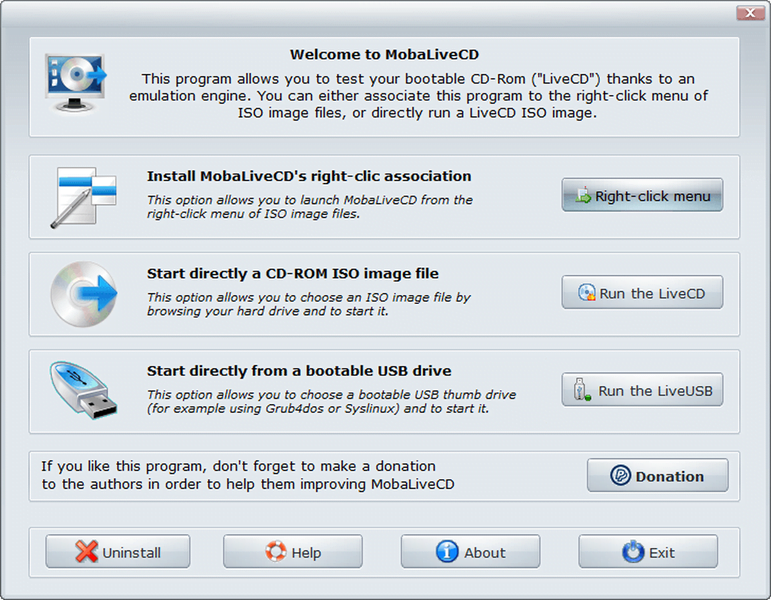 MobaLiveCD - Teste imagens ISO sem instalá-las-01