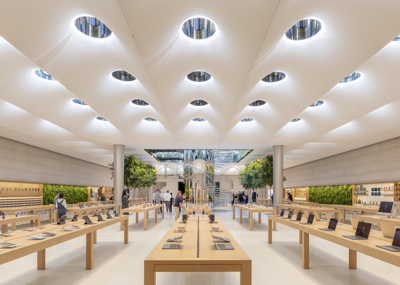 Compras na Apple Store em Nova Iorque